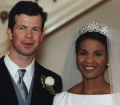 Princess Angela of Liechtenstein, Europe's first black princess. Born in Panama and raised in the U.S., she met Prince Maximilian while working as a fashion designer in New York City. The couple married on January 29, 2000 and have since had a son, Prince Alfons.