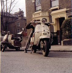 The late Peter Hyde - North London