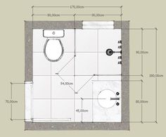 CASA SOLUTION | QUANTO MEDE UM BANHEIRO PEQUENO? (medidas mínimas num banheiro quadrado)