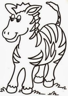 Wild Animals Coloring Pages Free Printable Download