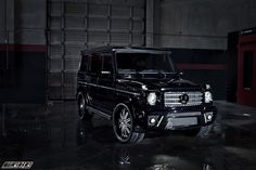 mercedes benz g wagon   mercedes-benz-g-class-g-wagon-g500-g550- g55-amg-body-kit-black-by-aka ...