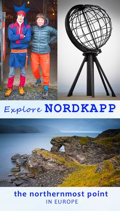 all you need to know about Nordkapp in Norway. how to get there, free parking, the REAL north cape! including camping info, hikes, short walks and entrance fees. meet Sami of the North Norway Destinations, Amazing Destinations, Norway Travel, Norway Map, Arctic Circle, Lofoten, Best Hikes, Summer Travel, Travel Inspiration