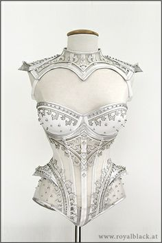"this would be cool for a costume wedding too: Couture Outfit ""The Crown Princess"""