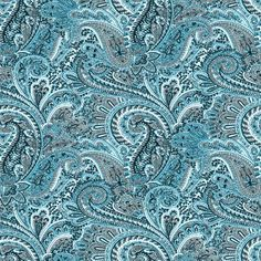 Free Teal Paisley Pattern Background Seamless Background | Twitter Backgrounds | Wallpaper Images | Background Patterns