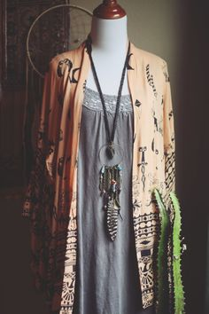 Roots and Feathers Dreamcatcher Necklace