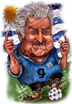 Caricaturas Jose Pepe Mujica By Búho Design & Caricatiras Uruguay  http://www.buhodesign.com.uy/ http://www.caricaturasuruguay.com.uy/