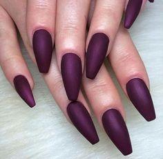 This Purple nail color Pinterest: @JENNY
