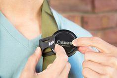 The Hufa Lens Cap Strap Holder - The Photojojo Store!
