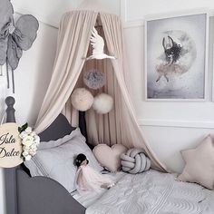 adorable little girls bedroom decor