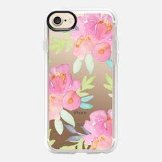iPhone 7 Case Summer Watercolor Florals