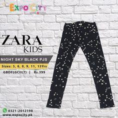 Brand: Zara Kids Product: Night Sky Black PJS  #girls #pjs #black #sleepwear #style #pakistan #karachi #PK #pakistanfashion #expocity #cashondelivery
