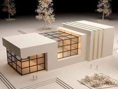Maquette Architecture, Interior Architecture Drawing, Architecture Model Making, Architecture Collage, Concept Architecture, Modern Architecture, Classic House Exterior, Design Basics, Tiny House Design