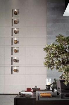 武地建发玺院售楼处   矩阵纵横-建e室内设计网-设计案例 Lobby Design, E Design, Feature Wall Design, Concrete Interiors, Wall Patterns, Interior Design Studio, Wall Treatments, Interior Walls, Office Interiors