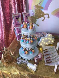 Unicorn Princess, Unicorn Party, Baby Shower Themes, Party Time, Desserts, Food, Party, Christian Music, Christians