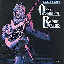 OzzyOsbourne CrazyTrainLive Single 1987
