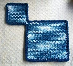 Crocheted Saucer and Cup Placemat