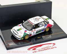 Subaru Legacy RS, Tour de Corse 1991, No.3, F.Chatriot / M.Perin, Subaru World Rally Team. Ixo, 1/43. Price (2016): 13 EUR.