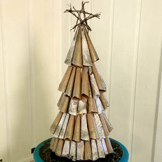 iLovetoCreate® Shimmer Tree #christmas #craft