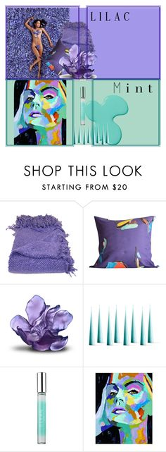 """""""www lilac mint"""" by www-whatwomenwan1 on Polyvore featuring interior, interiors, interior design, home, home decor, interior decorating, Fort Makers, Daum, CLEAN and colorchallenge"""