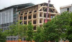 Shigeru Ban: Bureaux Tamedia, l'architecture dans le détail à Zurich Shigeru Ban, Gio Ponti, Zurich, Wood Architecture, Multi Story Building, Construction, Modern, Thesis, Detail