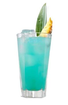 Aquatorial Blue Cocktail