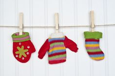 7 Holiday Decorations from Upcycled Sweaters
