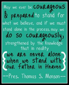 Stand for Truth and Righteousness