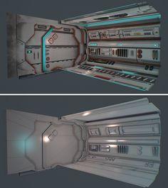 ArtStation - Dukata spaceship, David Chumilla Liccioli
