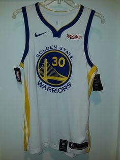366cc1ca9bb7 Limited Golden State Warriors Stephen Curry Authentic Nike White Jersey 48  L New