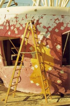 William Eggleston, Yellow Ladder. Color Photography, Vintage Photography, Street Photography, Photography Aesthetic, Landscape Photography, Portrait Photography, Nature Photography, Fashion Photography, Wedding Photography