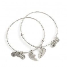 Best Friends Set of 2 Charm Bangles • Alex & Ani • Call to order • In-store pickup • 541.386.3977 #hoodriver