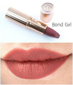 """The Happy Sloths: Charlotte Tilbury Matte Revolution Lipsticks in """"Very Victoria"""" & """"Bond Girl"""": Review and Swatches"""