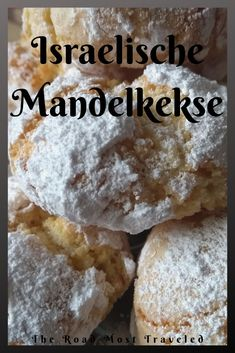Mandelkekse aus Israel Almond biscuits are an Israeli dessert. These consist principally of homemade marzipan, which is baked. For tasty mouths the right thing! Apple biscuits recipe & the nOatmeal biscuits without foodCookies biscuits like Sub Easy Cookie Recipes, Diet Recipes, Cake Recipes, Snack Recipes, Dessert Recipes, Snacks, Greek Recipes, Healthy Recipes, Israeli Desserts