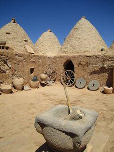Harran beehive houses #turkey #urfa
