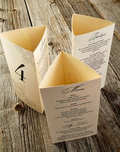 Hey, I found this really awesome Etsy listing at https://www.etsy.com/listing/232652200/tri-fold-menu-custom-made