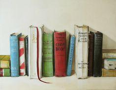beautiful old cookbooks...