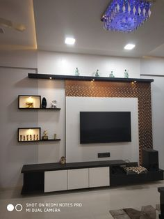 Lcd Wall Design, Lcd Unit Design, House Ceiling Design, Living Room Tv Unit Designs, Living Room Sofa Design, Home Room Design, Tv Unit Furniture Design, Bedroom Furniture Design, Flat Interior Design