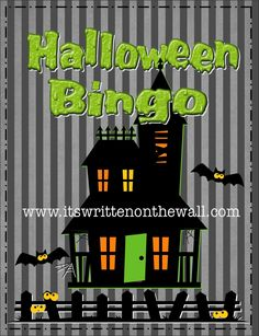 It's Written on the Wall: Halloween Bingo Game Released Early (Due to Popular Demand)