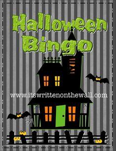 (Freebie) It's Written on the Wall: Halloween Bingo Game