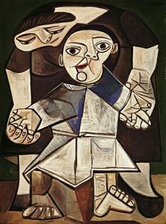 Pablo Picasso, The First Steps, 1943 (oil on canvas)