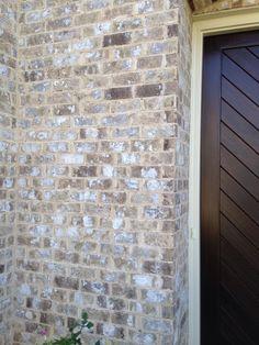 Brick - magnolia ridge  Mortar - coosa cream Brick And Mortar, Brick And Stone, Exterior House Colors, Exterior Paint, Brick Projects, Adams Homes, Brick Colors, Brick Design, Stone Houses