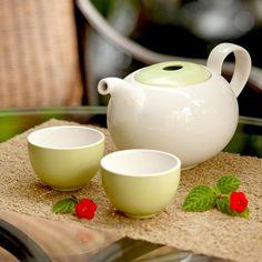 Loveramics - Er-go! Large Tea Set via TasteCentral