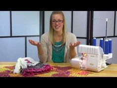 Learn about the Baby Lock Imagine serger with Stephanie Struckmann in this free online sewing class over at SewAtHomeClasses.com!