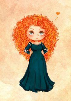 Merida loves her look!