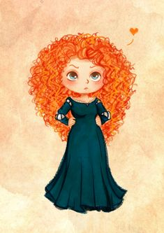 Merida love her look!