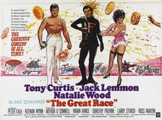 The great race | There were several posters for this film but I picked this one ...