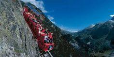 The Gelmerbahn funicular in Switzerland - Google Search