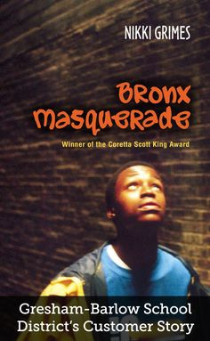 Bronx Masquerade (Book) : Grimes, Nikki : While studying the Harlem Renaissance, students at a Bronx high school read aloud poems they've written, revealing their innermost thoughts and fears to their formerly clueless classmates. Bronx Masquerade, Books For Tweens, Tween Books, High School Reading, Poems For Him, Transition Words, Coretta Scott King, Customer Stories, King Book