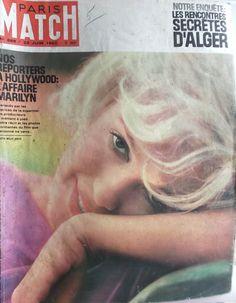 PARIS MATCH n°689 DE 1962 MARILYN MONROE-MICHEL JAZY-ALGER-INDONESIE | eBay