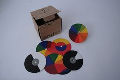 Bauhaus didactic colour theory toy - Ludwig Hirschfeld-Mack